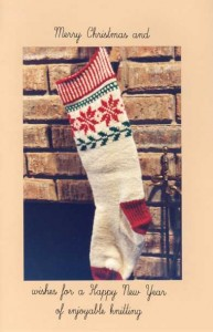 Christmas Card Stocking Pattern