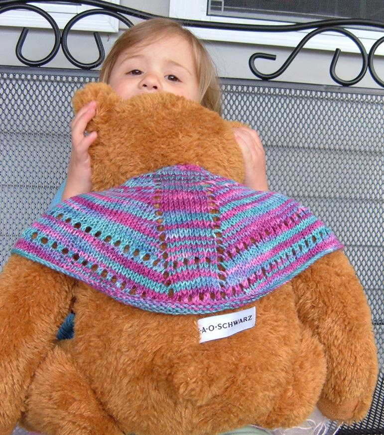 Bear's Faroese Shawl