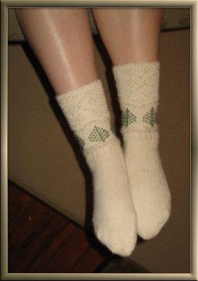 Joy Cyr's Socks