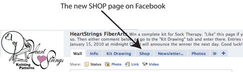 New Facebook Shop Tab