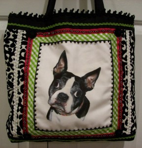 Roxie tote bag by Nancy Bolten