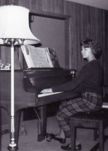 Jackie at piano