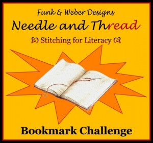 Stitching for Literacy Bookmark Challenge
