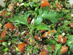 Tabouli Salad with Quinoa
