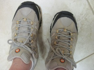 My new Merrell Moab Ventilator shoes