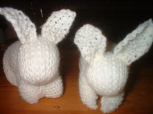 Knitted Bunny photos from Mary Lou Norton