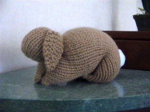 Mary's Knitted Bunny