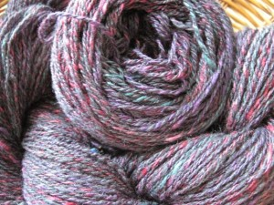 Blackberry Handspun Yarn