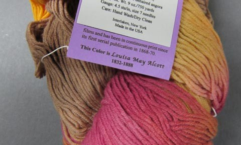 Schaefer Martha Yarn in color LouisaMayAlcott